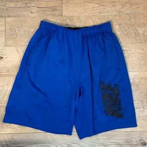 🏋️♀️ Nike Cobalt Blue Workout Shorts
